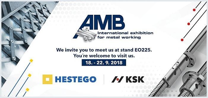 Pozvánka na veletrh AMB Stuttgart
